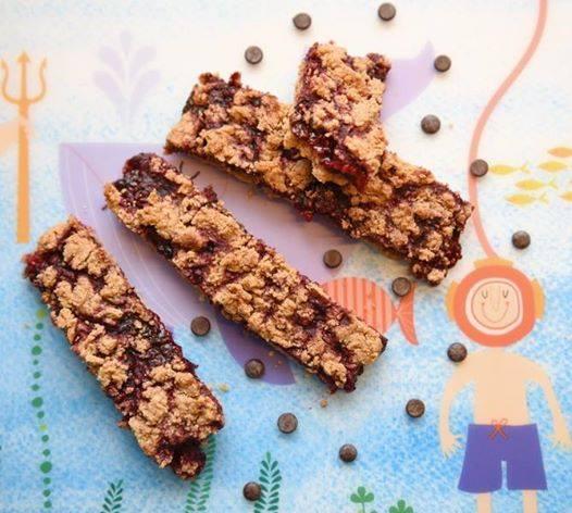 Sjokolada-hindberð barr