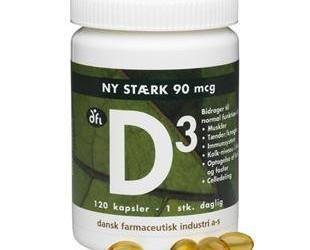 Eyka D-vitamin til myrku tíðina!